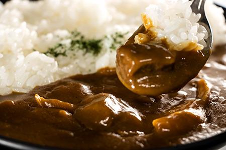 【E21211】JA上川中央「きのこカレー(5個入り)セット」