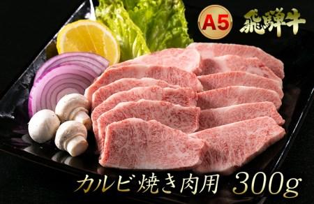 A5飛騨牛カルビ焼肉用 300g(2人前程度)