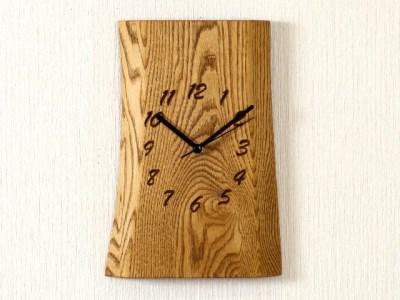 栗 一枚板時計 JTK001-OBK  D29-01