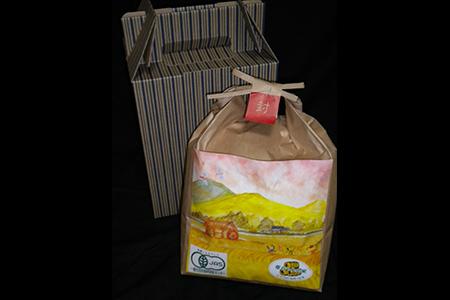 G104 (玄米)コシヒカリJAS有機米 3㎏