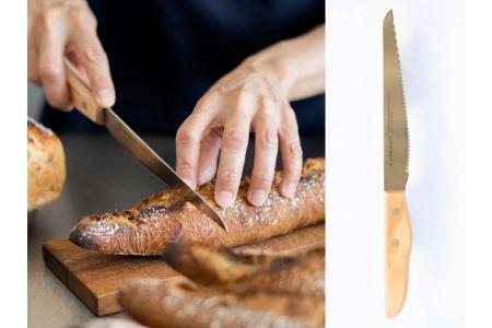 パン切りナイフ 【せせらぎ】 14cm (パンナイフ パン切り包丁 ブレッドナイフ MS-002) H10-72
