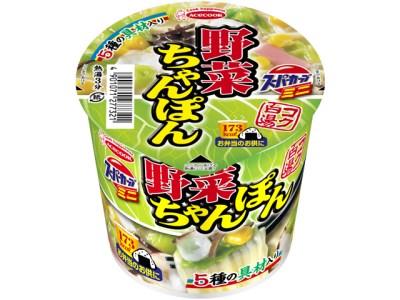 S5-11 エースコック スーパーカップミニ 野菜ちゃんぽん