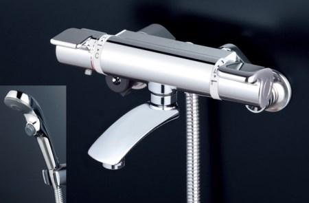 バス用サーモスタット式シャワー混合水栓[K0072]