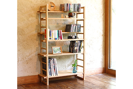 【2638-0037】kigumiシェルフ・ナチュラル 【オークヴィレッジ 国産材 木製家具】