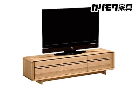 【2638-0088】カリモク【テレビボード】QU6107