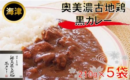 奥美濃古地鶏 黒カレ−(海津)