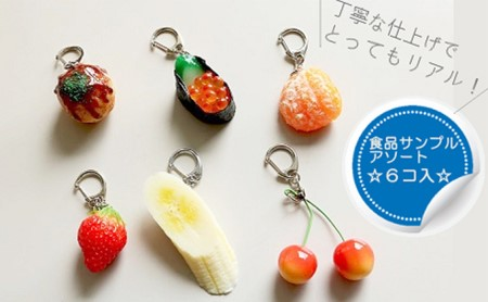 食品サンプル6個入り(海津)