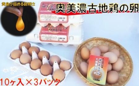 神代の味の再現 奥美濃古地鶏の卵