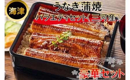 うなぎ蒲焼バラエティセット(三河産)