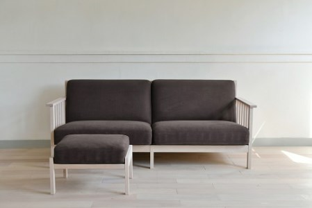 【10100004】n'frame sofa I L& n'frame sofa ottoman