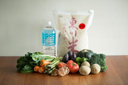 【10000001】北海道ひがしかわ産農産物等のセット