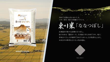 【19000110】【定期便 6回配送】北海道初の地域ブランド「東川米 ななつぼし」無洗米10kg