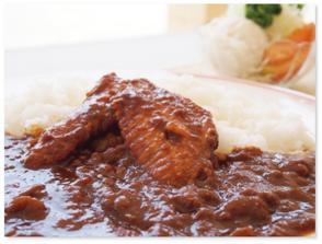 【2600-0010】 奥美濃古地鶏手羽先やわ煮カレー