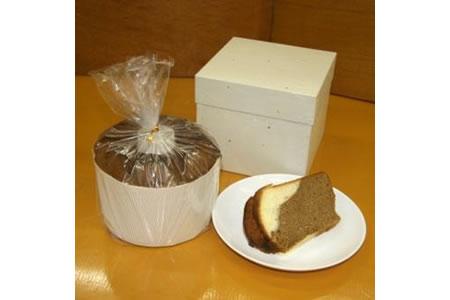 【2607-0008】「和菓子工房 松栄堂」が作る、和菓子屋のシフォンケーキ(珈琲)