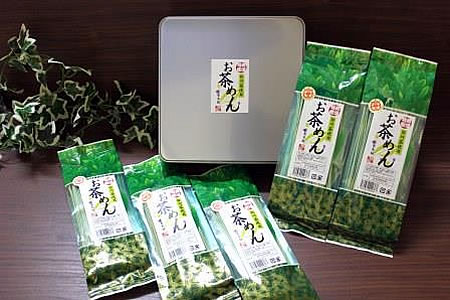 【2607-0014】美濃特産お茶めん5袋セット