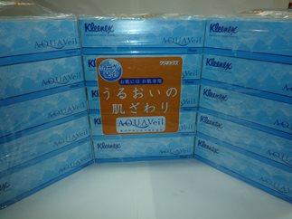 【2607-0317】ティッシュペーパー(アクアヴェール)50箱