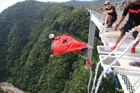 【高さ215m】日本一のバンジージャンプ「岐阜バンジー」6,000円割引券