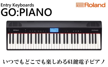 【Roland】61鍵電子ピアノ/GO:PIANO【配送不可:離島】