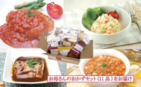 [№5786-1030]遠州浜松「知久屋健康惣菜」母さんのおかず11点セット