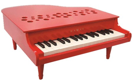 KAWAI ミニグランドピアノP‐32レッド (1163)