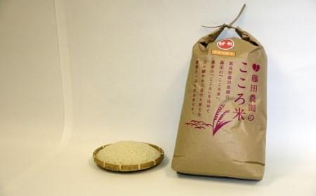 お米ななつぼし 10kg(精米)【藤田農園】【AO-001】