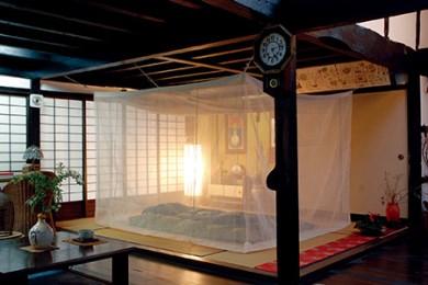 43 本麻 からみ織 菊屋の蚊帳