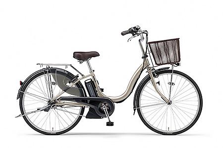 191YAMAHA電動アシスト自転車(ナチュラM)(26インチ・アッシュゴールド)