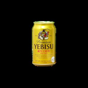 a17-008 サッポロヱビスビール350ml缶×1箱 ヱビス2本