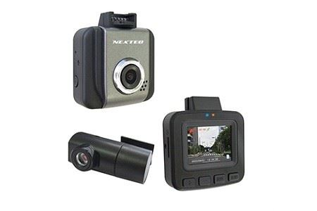a28-006 ドライブレコーダー 2カメラ  200万画素 NX-DRW22WPLUS
