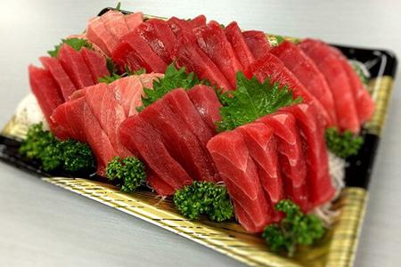 a20-130 静岡県漁連 天然まぐろ中トロ豊漁セット