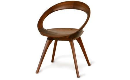 起立木工 ANELLO(アネロ)チェア ブラックウォールナット/オイル仕上げ 椅子