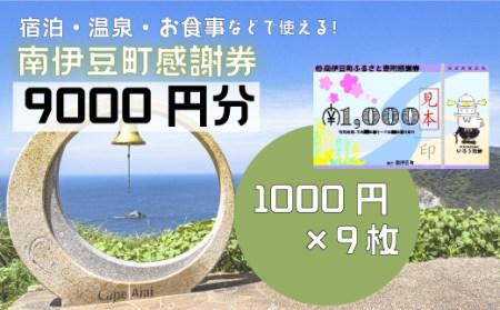 [Za-03]南伊豆町ふるさと寄附感謝券9枚