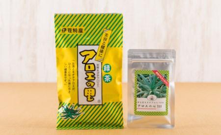 [3011601]粒状アロエとアロエ茶の「飲むアロエセット」
