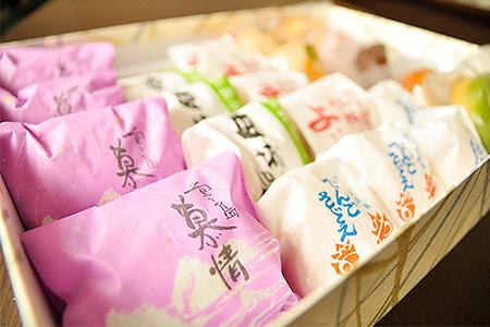 「秋月」厳選菓子セット