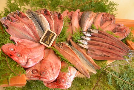 [3030208]大島水産の「国産干物詰め合せセット」