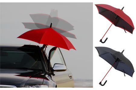 逆に開く傘 GAX UMBRELLA G-1S  色:黒×黒