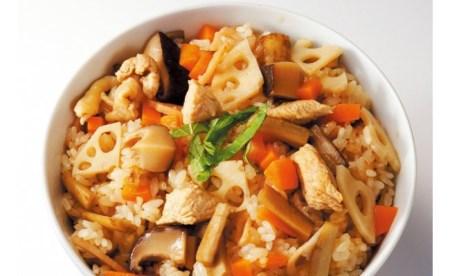 純系名古屋コーチン使用☆炊き込みご飯の素×2、地鶏めしの素×2