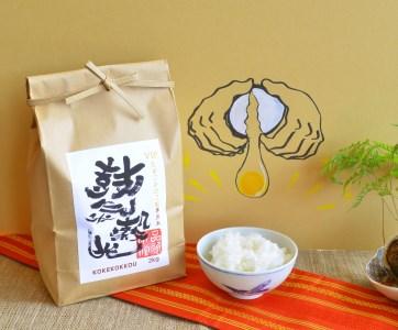 たまごかけご飯専用米 鼓氣穀光 KOKEKOKKOU H056-024