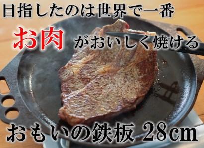おもいの鉄板 28㎝ 世界で一番お肉がおいしく焼ける鉄板 H051-006