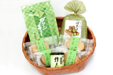 1-18.厳選・南山園抹茶製品詰合せ