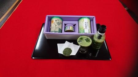 29-1-4.「葵の抹茶美人①」作り方・レシピ付