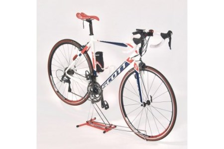 【2619-0013】ロードバイク 整備が出来るディスプレイスタンド iWA A02L ファーストレッド