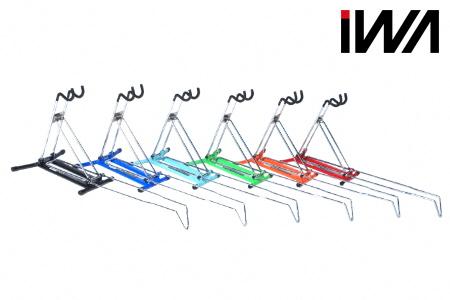 【2619-0022】ロードバイク 整備が出来るディスプレイスタンド iWA A02L ペールブルー