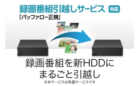 BUFFALO/USB3.2(Gen1)対応外付けHDDブラック 3TB HD-LE3U3-BA