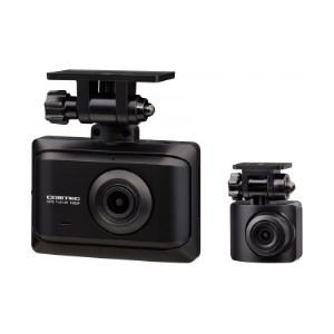 コムテック 前後2カメドライブレコーダー ZDR016【1214392】