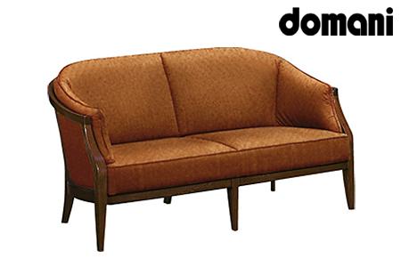 【2629-0149】[カリモク家具:ドマーニ]ソファー2P 【WHA622モデル】