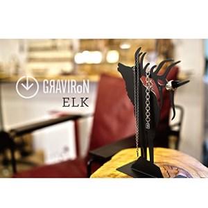 GRAVIRoN ELK アクセサリースタンド 黒皮鉄