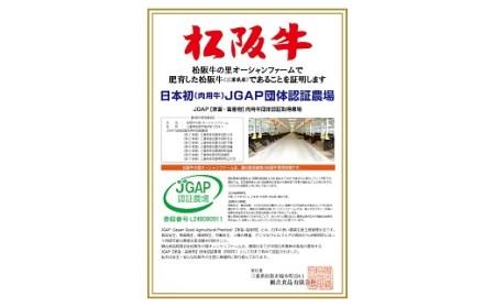 【3-41】松阪牛焼肉(肩ロース・モモ・バラ)600g