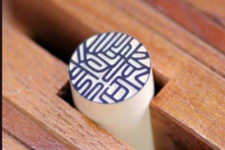u_06 山榮堂 一級印章彫刻士が彫る高級本象牙男性向け実印(18mm丸)