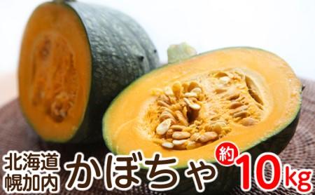 北海道幌加内産かぼちゃ約10kg